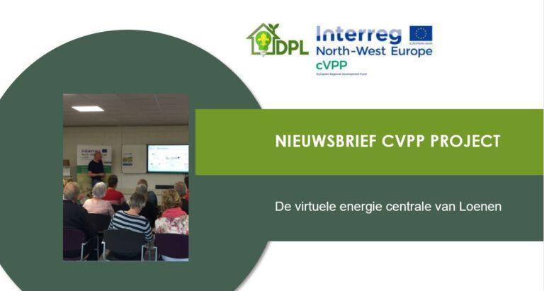 Nieuwsbrief CVVP project september